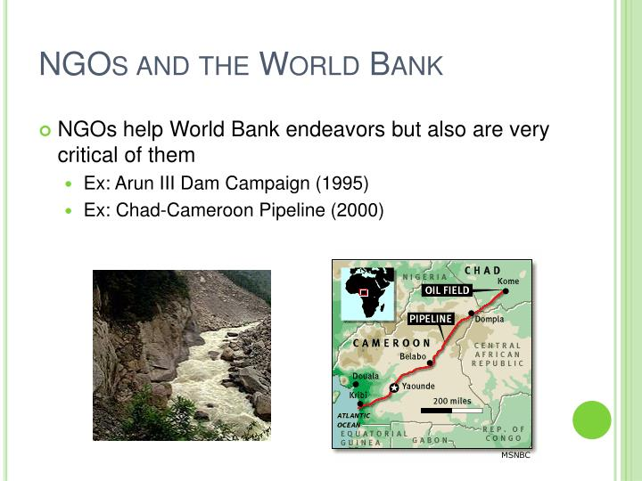 world bank case study The case studies were prepared by the world bank, a regional development bank, a bilateral development agency, a government evaluation agency in a developing country, a national ngo, and an international research institute.
