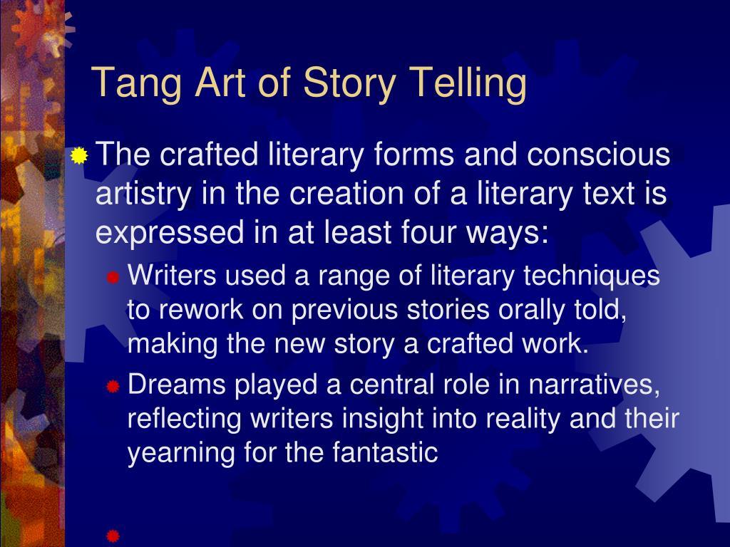 Tang Art of Story Telling