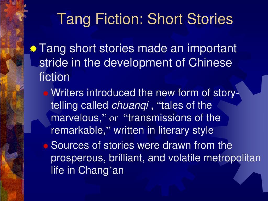 Tang Fiction: Short Stories