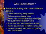 why short stories