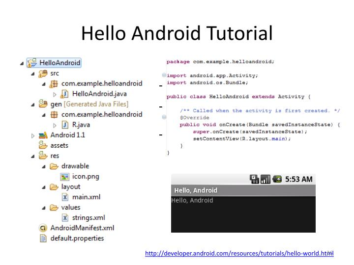 Hello Android Tutorial