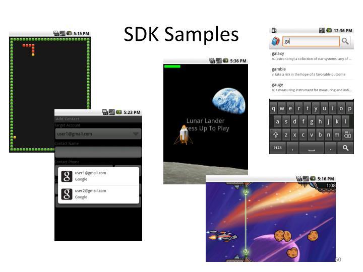 SDK Samples