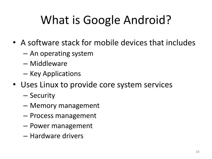 What is Google Android?