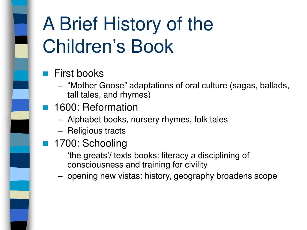 A Brief History of the Children's Book