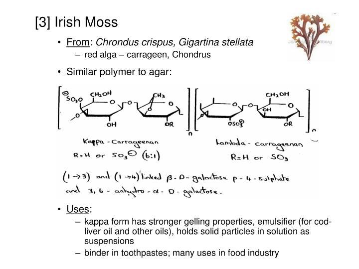 [3] Irish Moss