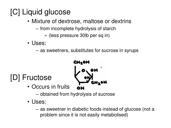 [C] Liquid glucose