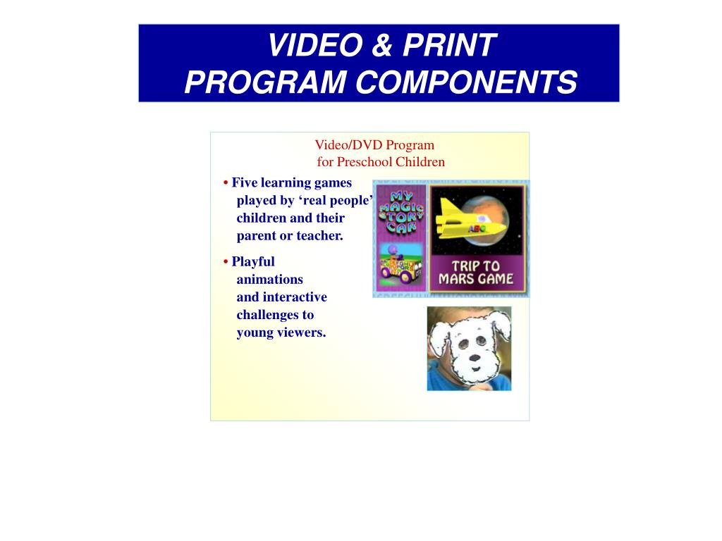 VIDEO & PRINT