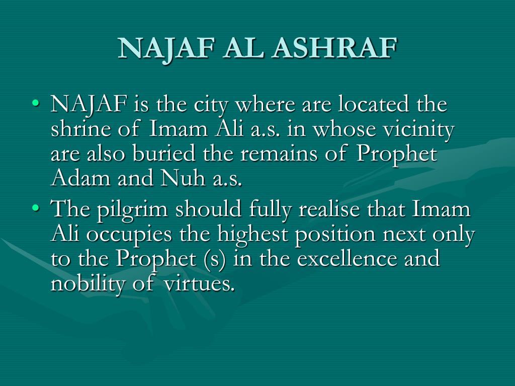 NAJAF AL ASHRAF