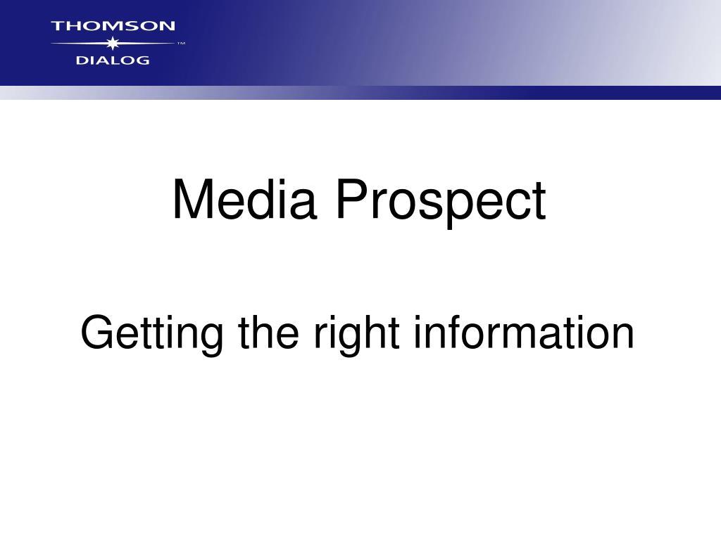 Media Prospect