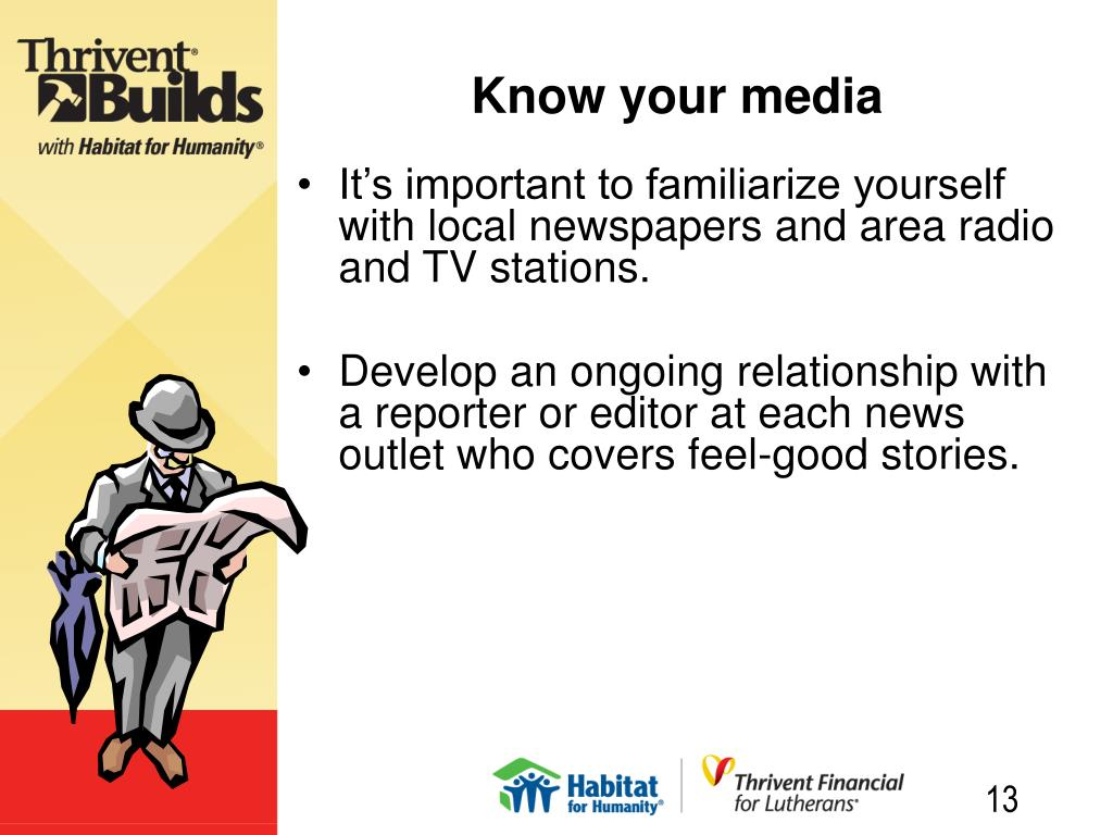 Know your media