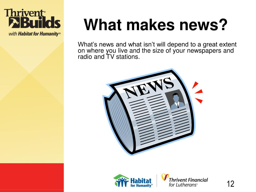 What makes news?