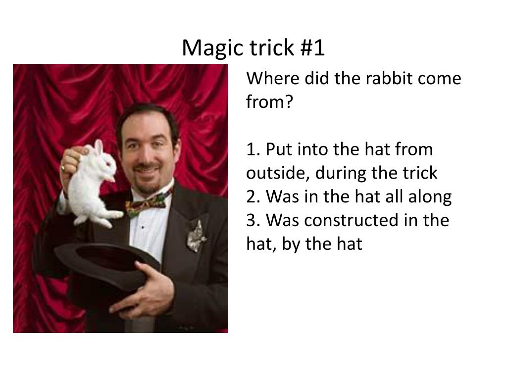 Magic trick #1