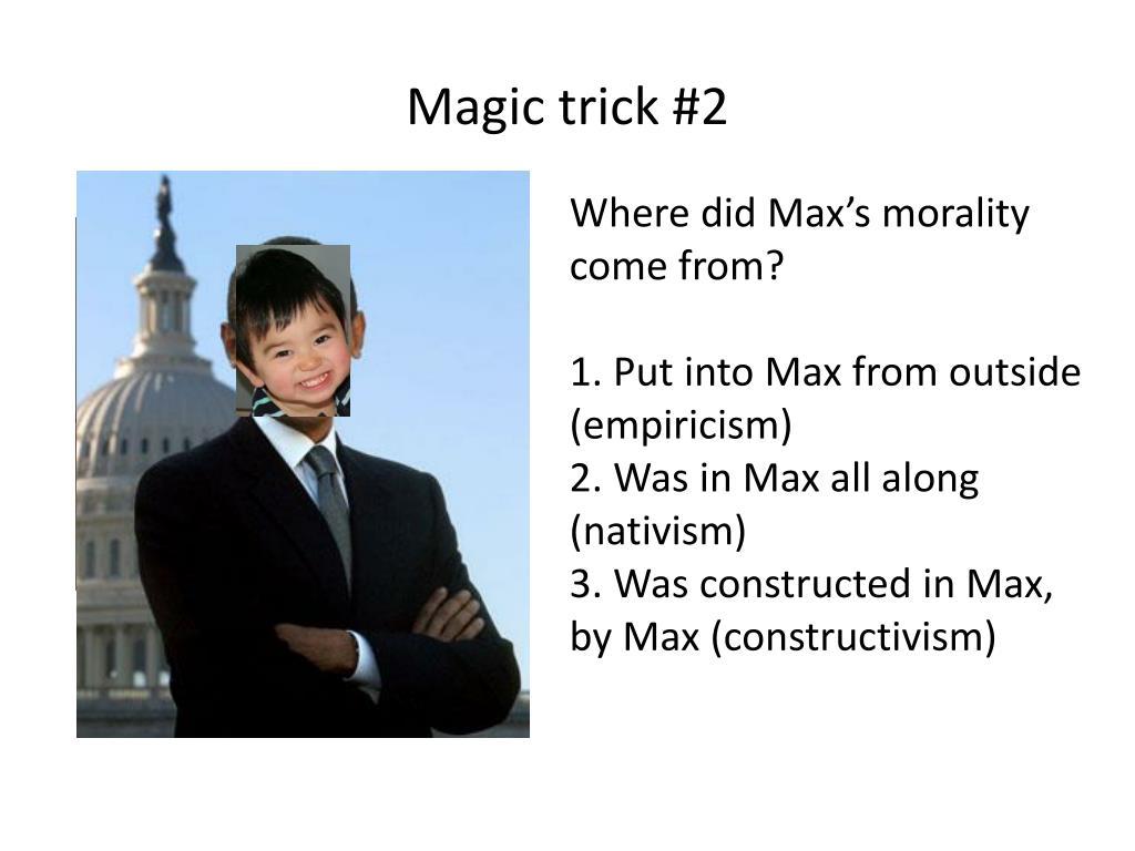 Magic trick #2