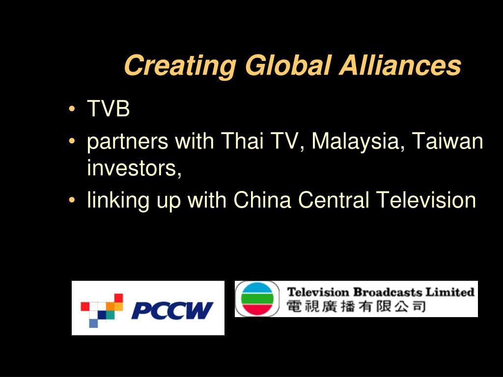 Creating Global Alliances