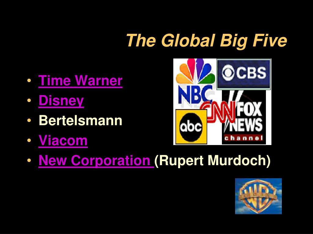 The Global Big Five