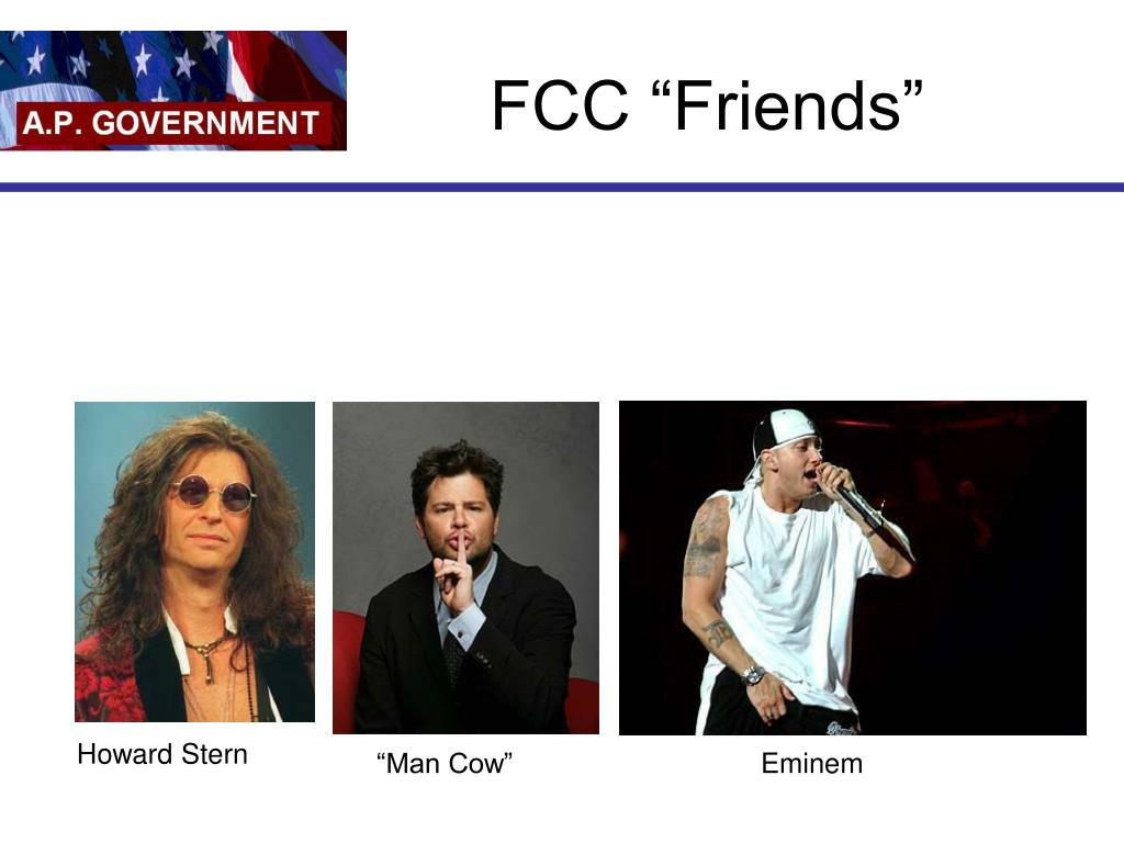 "FCC ""Friends"""