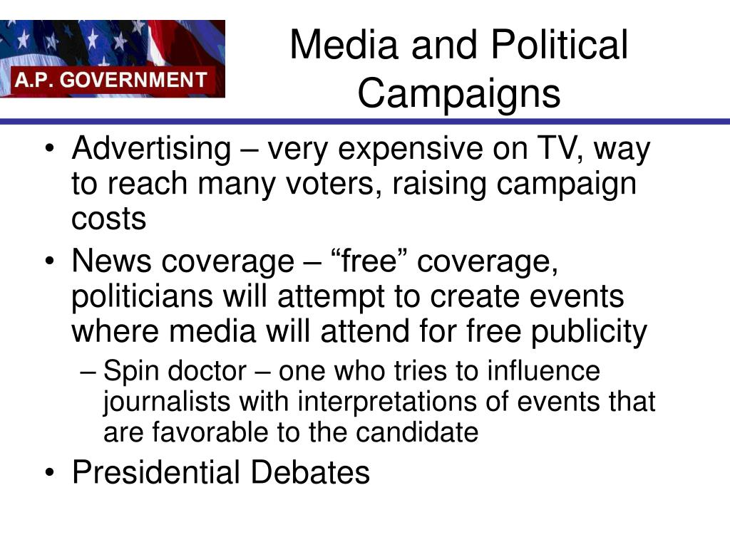 Media and Political Campaigns