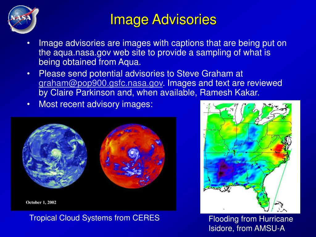 Image Advisories