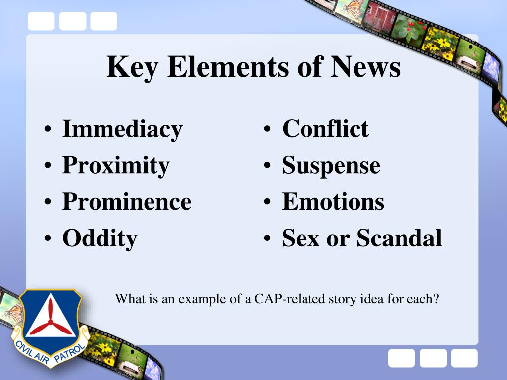 Key Elements of News