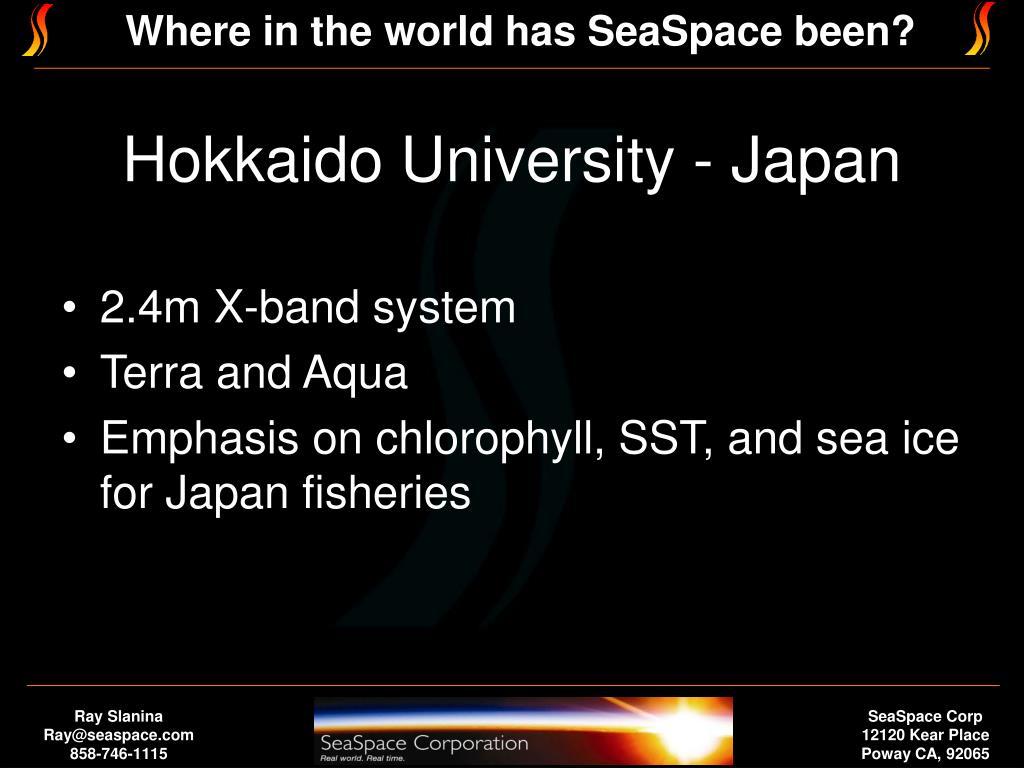 Hokkaido University - Japan