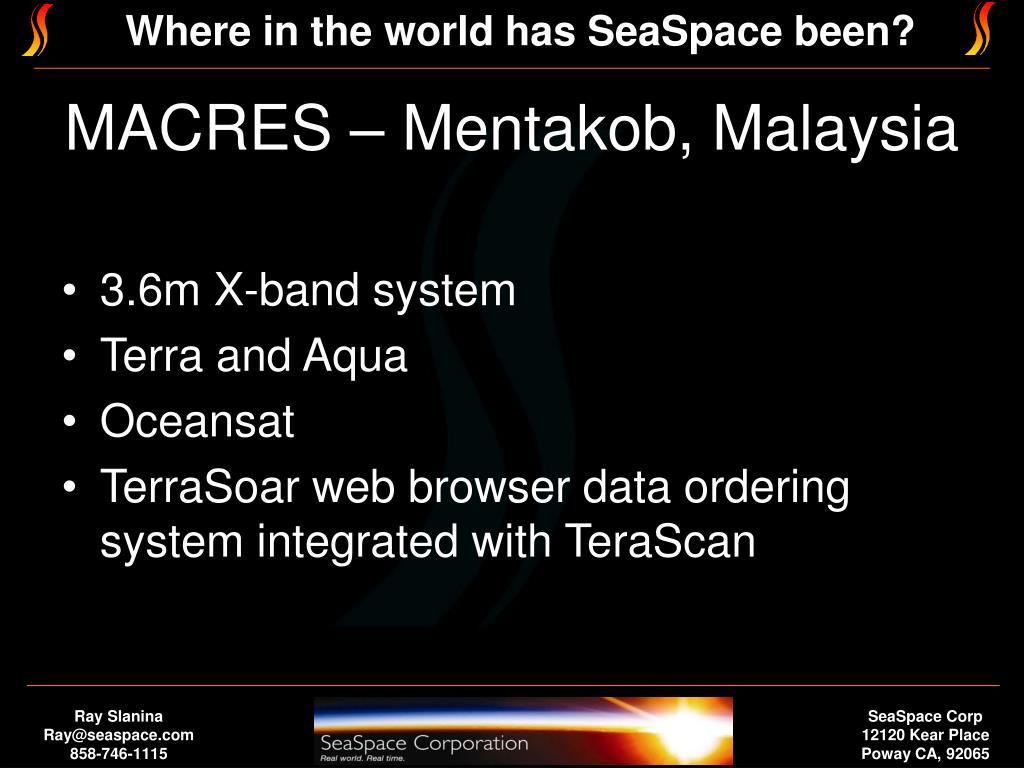 MACRES – Mentakob, Malaysia