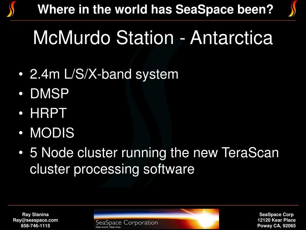 McMurdo Station - Antarctica