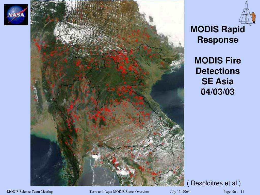 MODIS Rapid