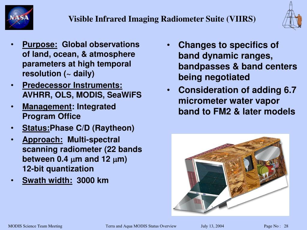 Visible Infrared Imaging Radiometer Suite (VIIRS)
