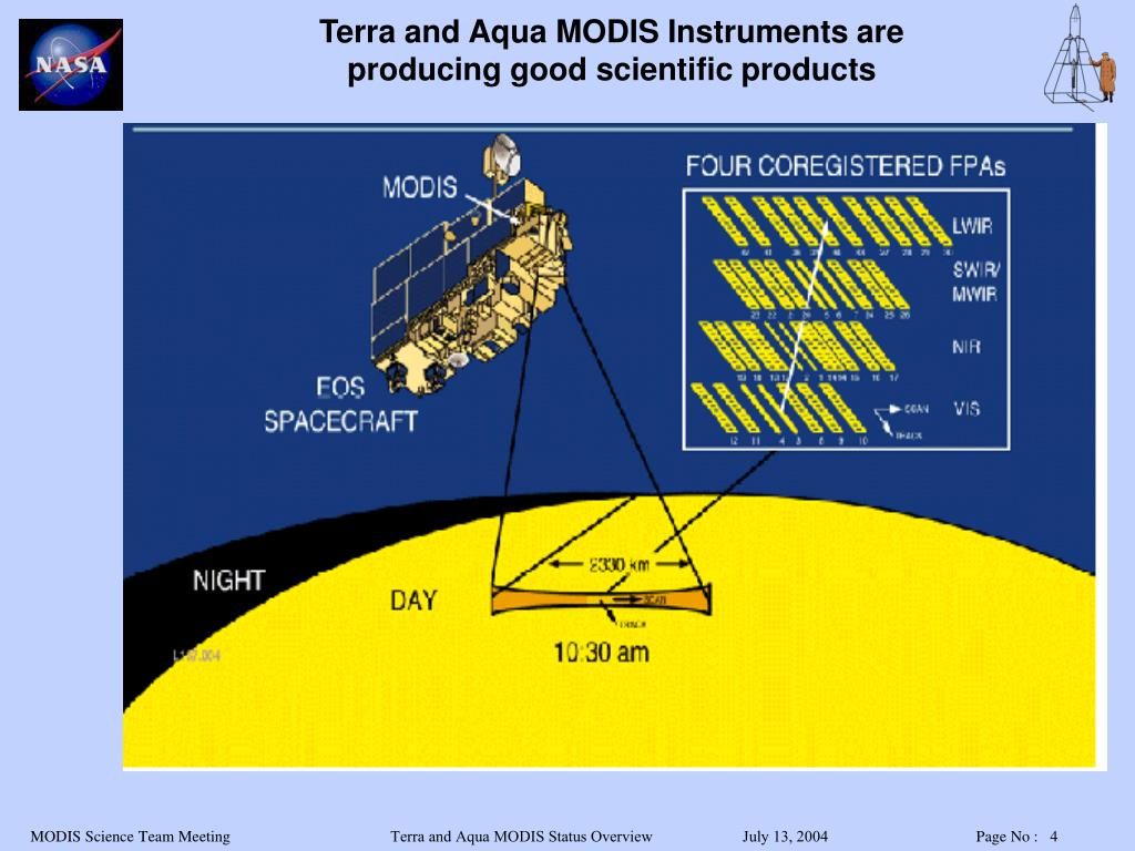Terra and Aqua MODIS Instruments are producing good scientific products