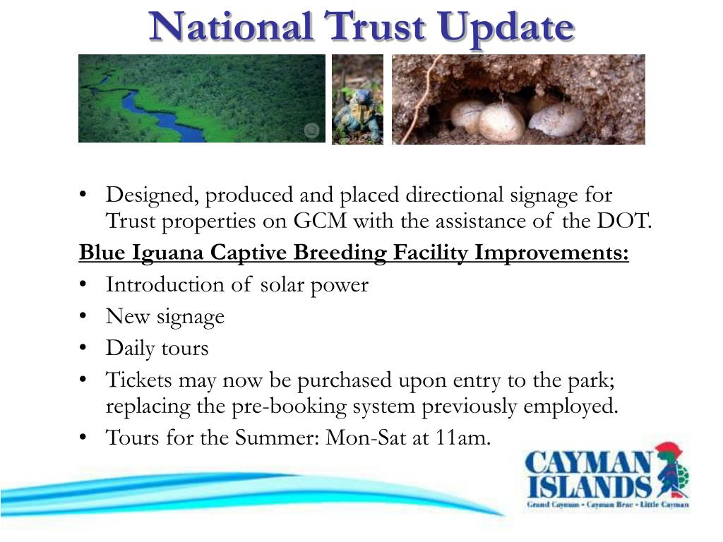 National Trust Update
