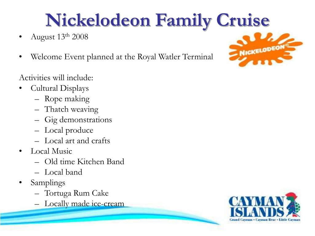 Nickelodeon Family Cruise