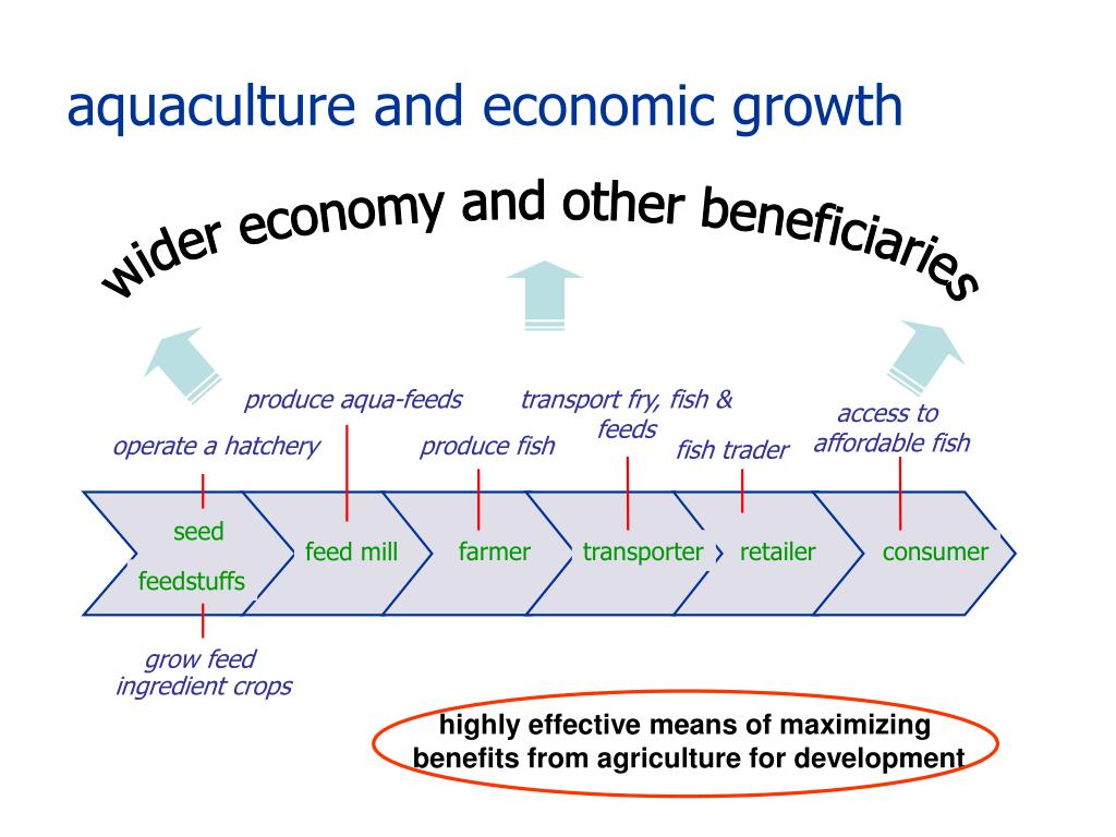 aquaculture and economic growth