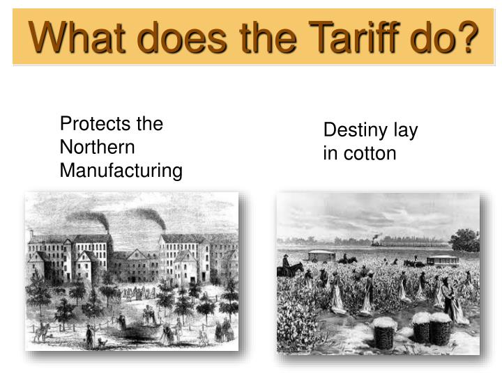 What does the Tariff do?