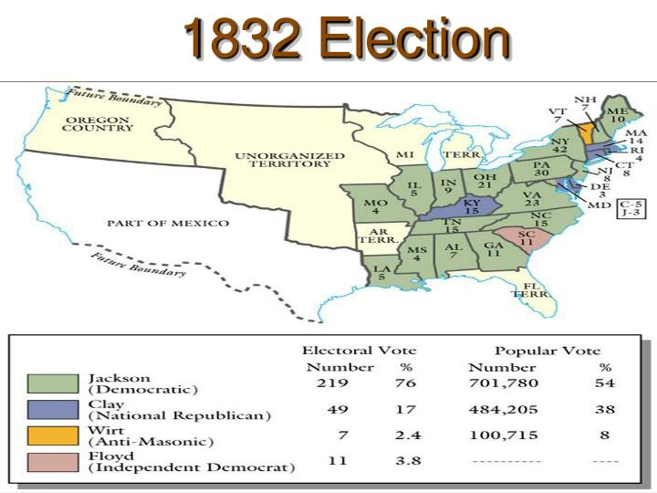 1832 Election Results