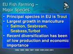 eu fish farming major species