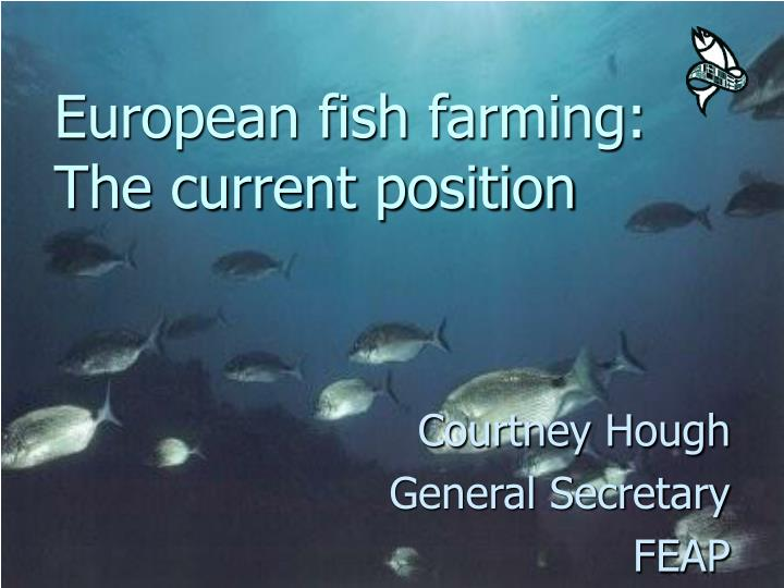 European fish farming the current position