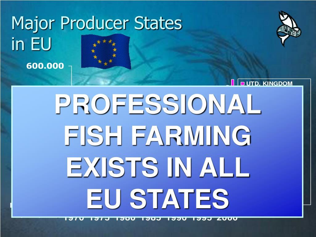 Major Producer States