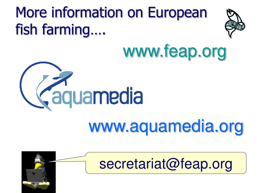 More information on European fish farming….