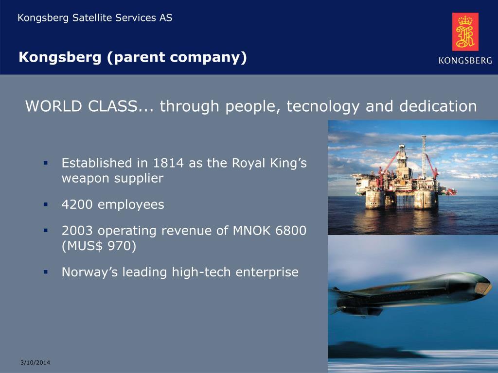Kongsberg (parent company)