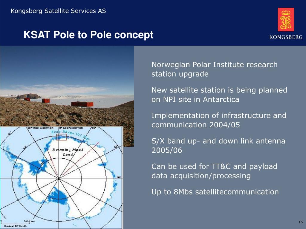 KSAT Pole to Pole concept