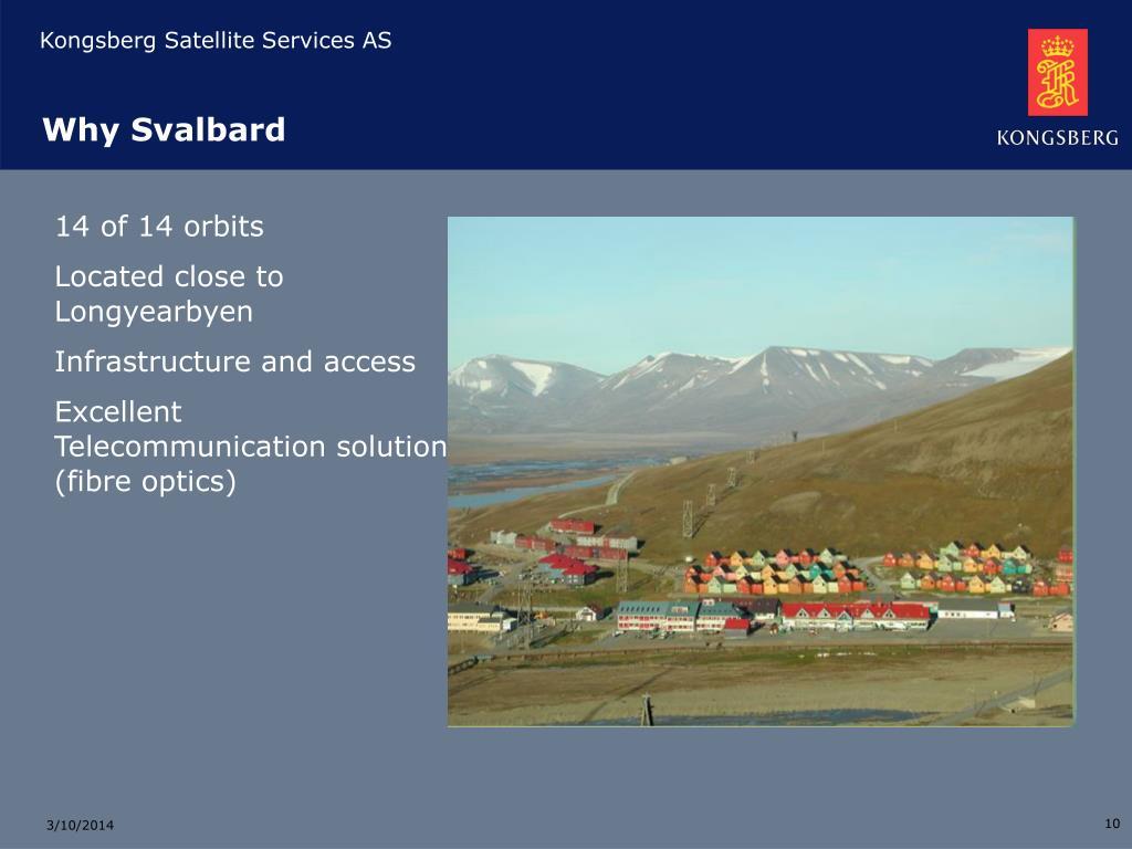 Why Svalbard