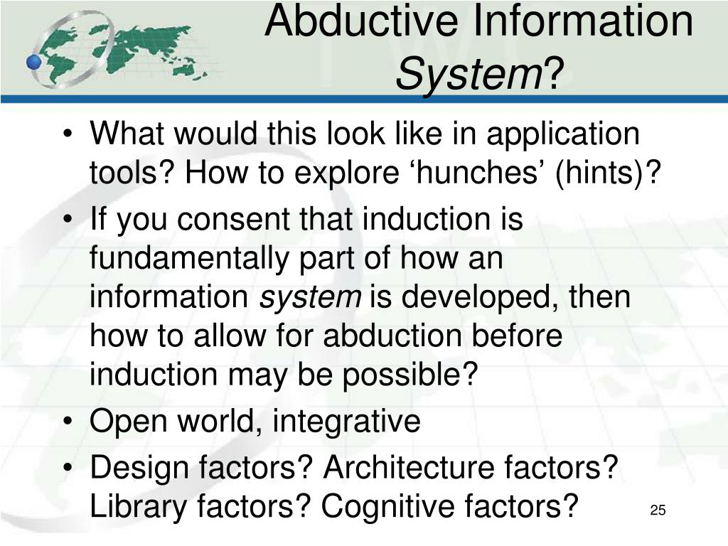 Abductive Information