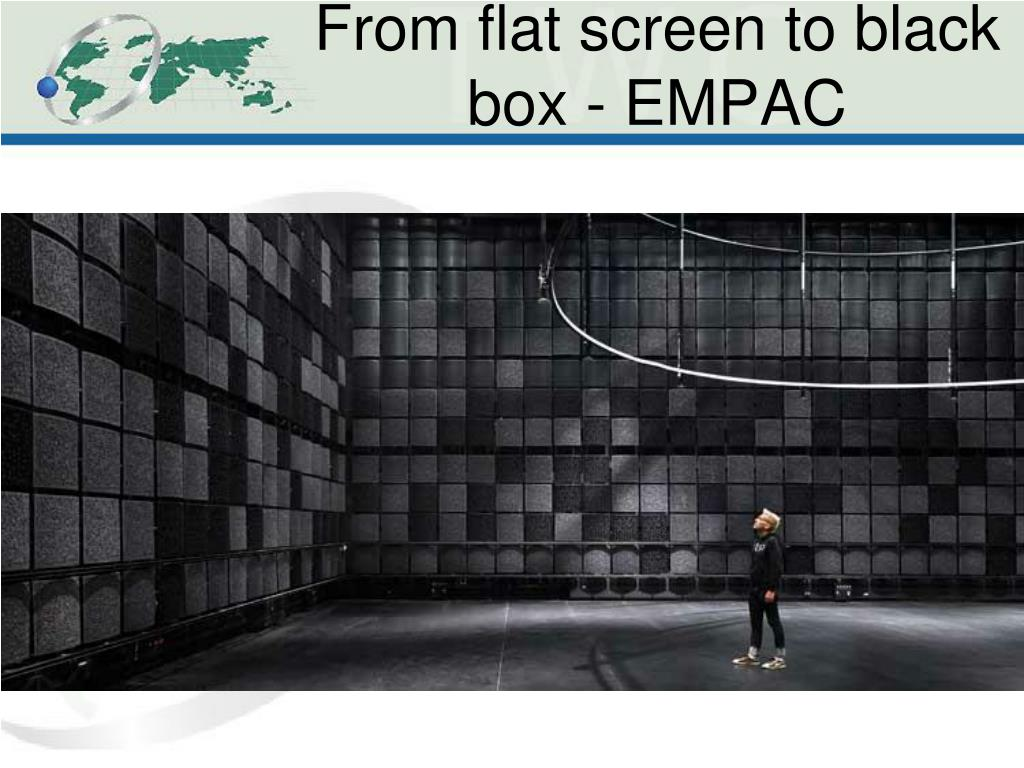 From flat screen to black box - EMPAC