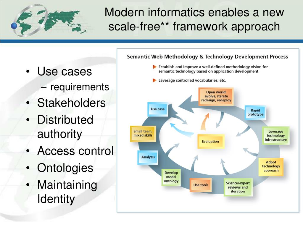 Modern informatics enables a new scale-free** framework approach