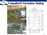 4 aquabuoy formation testing