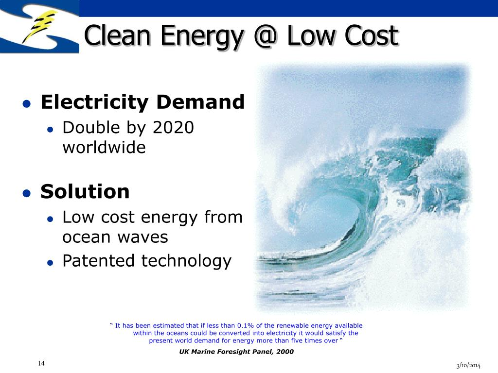 Clean Energy @ Low Cost