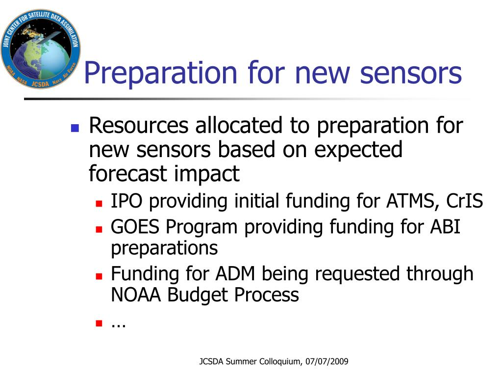 Preparation for new sensors