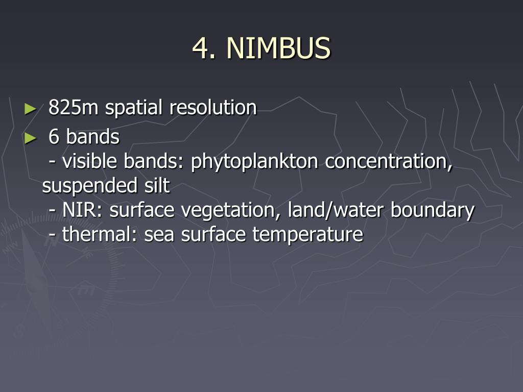4. NIMBUS
