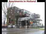 apartments in holland