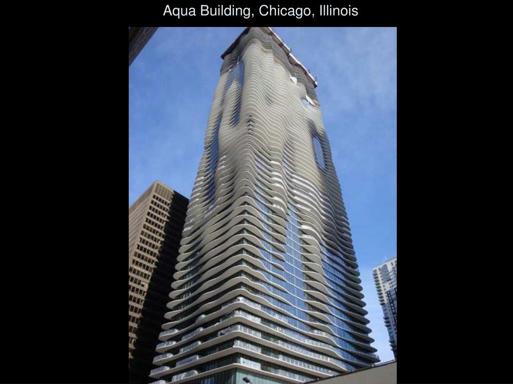 Aqua Building, Chicago, Illinois